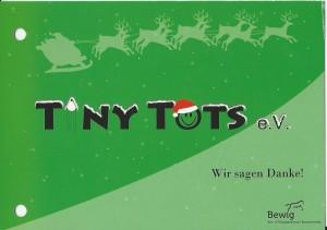 Dankeskarte Weihnachtsmärchen