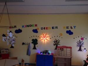Im Kinderzimmer der Landesaufnahmebehörde Niedersachsen